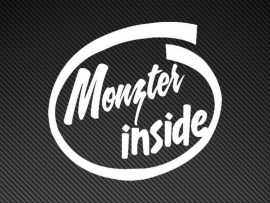 Monster Inside sticker