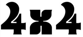 4x4 Motief 28 Sticker