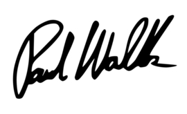 Paul Walker handtekening Sticker Motief 2