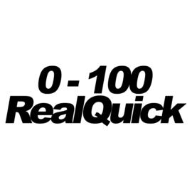 0 - 100 RealQuick Sticker