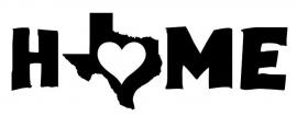 Texas Home Love sticker
