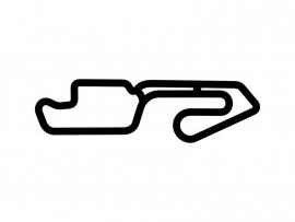 Castrol Raceway Circuit Sticker