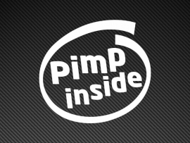 Pimp Inside sticker
