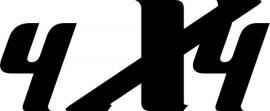 4x4 Motief 61 sticker