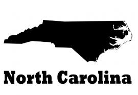 North Carolina State Motief 1 sticker