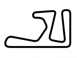 Aiginio Race Track Circuit Sticker