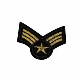 Sergeant Strepen Patch | Model 2