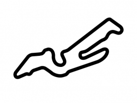 Las Vegas Motor Speedway Outfield Course Circuit Sticker