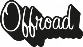 Off Road Motief 17 sticker