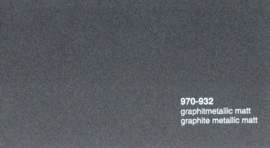 Oracal 970RA  932 Wrap Folie  Mat Graphite Metallic