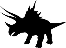 Dinosaurus Sticker Motief 7
