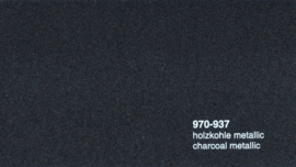 Oracal 970RA 937  Wrap Folie  Glans Charcoal Metallic