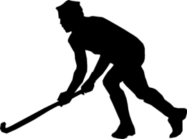 Hockey Sticker