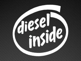 Diesel Inside sticker