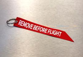 Remove Before Flight Sleutelhanger | Lint