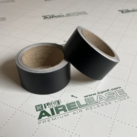 KPMF De Chrome Wrap Folie / Tape Mat Zwart | 5 Meter