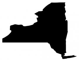 New York State Motief 2 sticker
