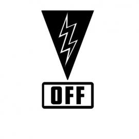 Cut Off Switch sticker