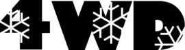 4WD Motief 16 sticker