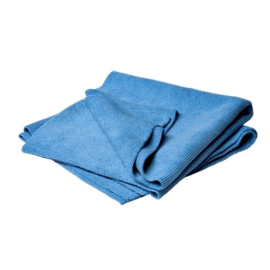 Microvezel doek  50 x 60 cm Blauw