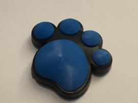 3D Honden / Katten poot Deurbeschermer Blauw | 1st.