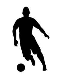 Voetbal Sticker Motief 5