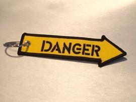 DANGER Sleutelhanger