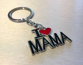 I Love MAMA Sleutelhanger