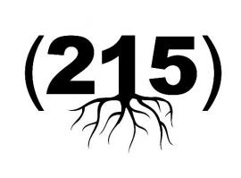 215 Zip Code Roots sticker