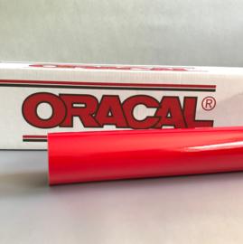 20 x 126 cm Oracal Licht Rood Tint Folie