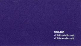 Oracal 970RA  406  Wrap Folie  Mat Violet Metallic