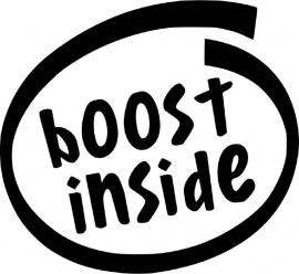 Boost Inside Motief 1 sticker