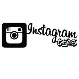 Instagram This Motief 2 Sticker