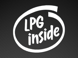 LPG Inside sticker