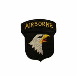 Airborne Strijk Patch | Zwart