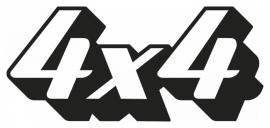 4x4 Motief 46 sticker