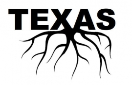 Texas Roots sticker