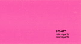Oracal 970RA 077  Wrap Folie  Glans Telemagenta