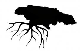 Jamaica  Home Roots sticker
