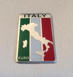 Italië  Embleem Metaal ( Rechthoekig )