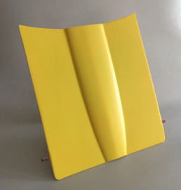 10 x 152 cm Mat Lemon Geel Wrap folie