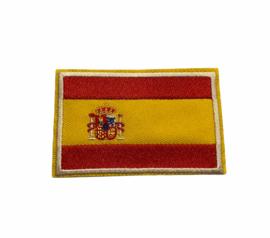Spanje Vlag Badge Strijk Patch