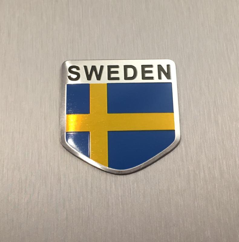 Zweden Embleem Metaal ( Schild )