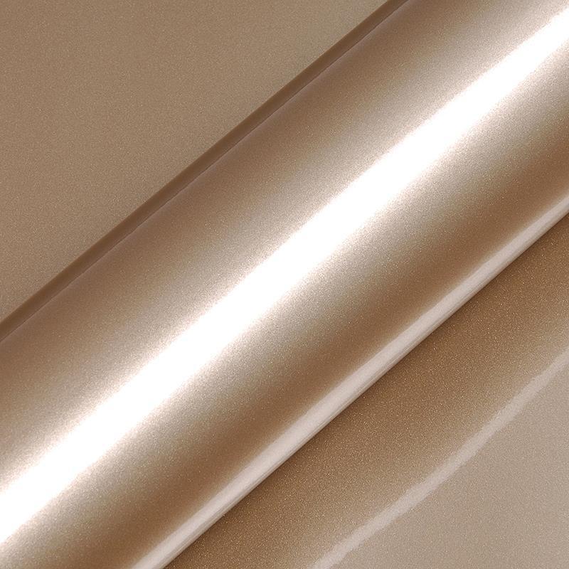 Restant : HEXIS Ashen Beige Metallic Glans   20 x 152 cm