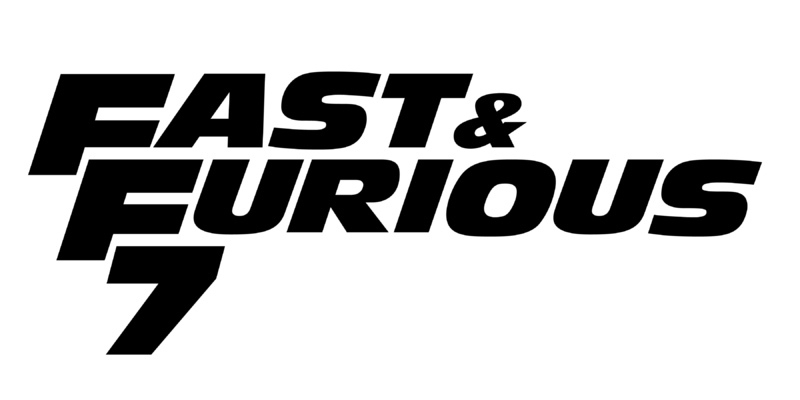 Fast and Furious 7  Sticker