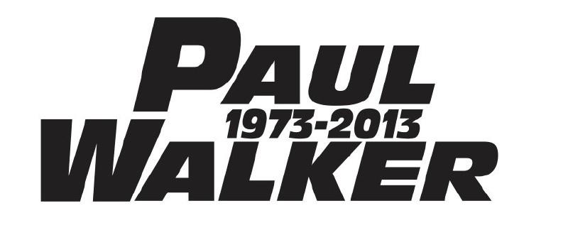 Paul Walker Motief 2 Sticker