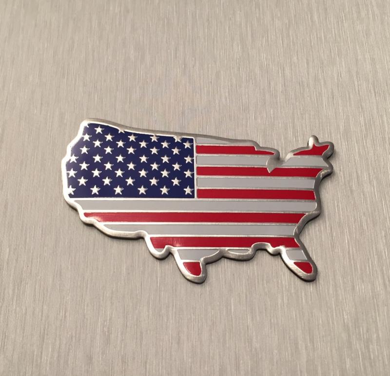 Verenigde Staten / Amerika  Embleem Metaal ( Land )