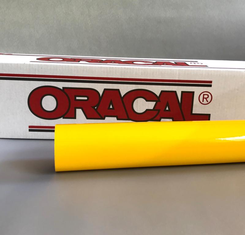 20 x 126 cm Oracal Gele Tint Folie