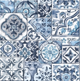 Dutch Reclaimed behang FD22316 Marrakesh Tiles