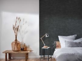 steen behang zwart grijs 37747-5